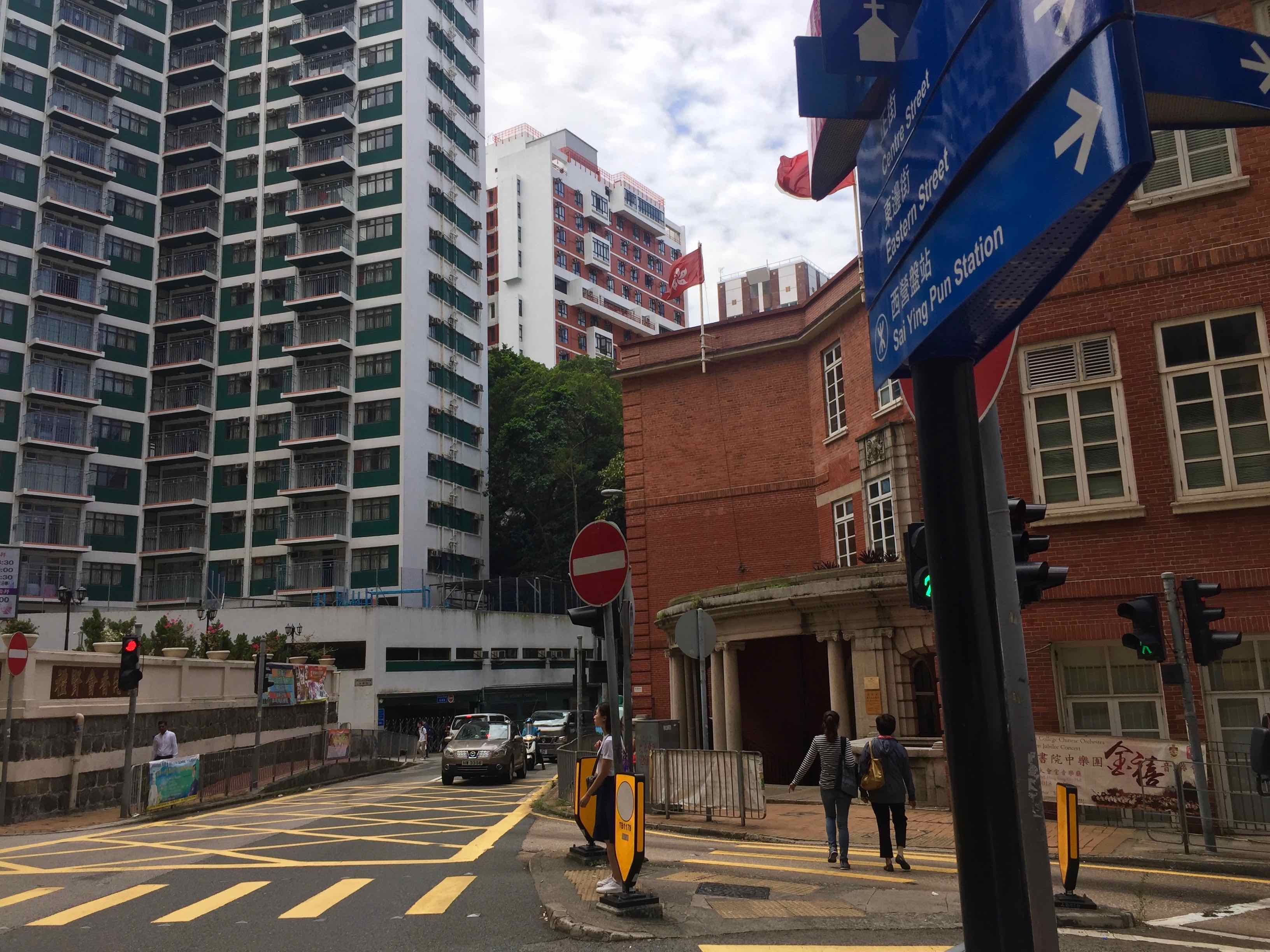 HK Sai Ying Pun High-ceiling F&B Shop for Lease Close by HK University