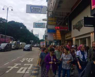 HK TST High Traffic Shopping Mall F&B Shop for Rent