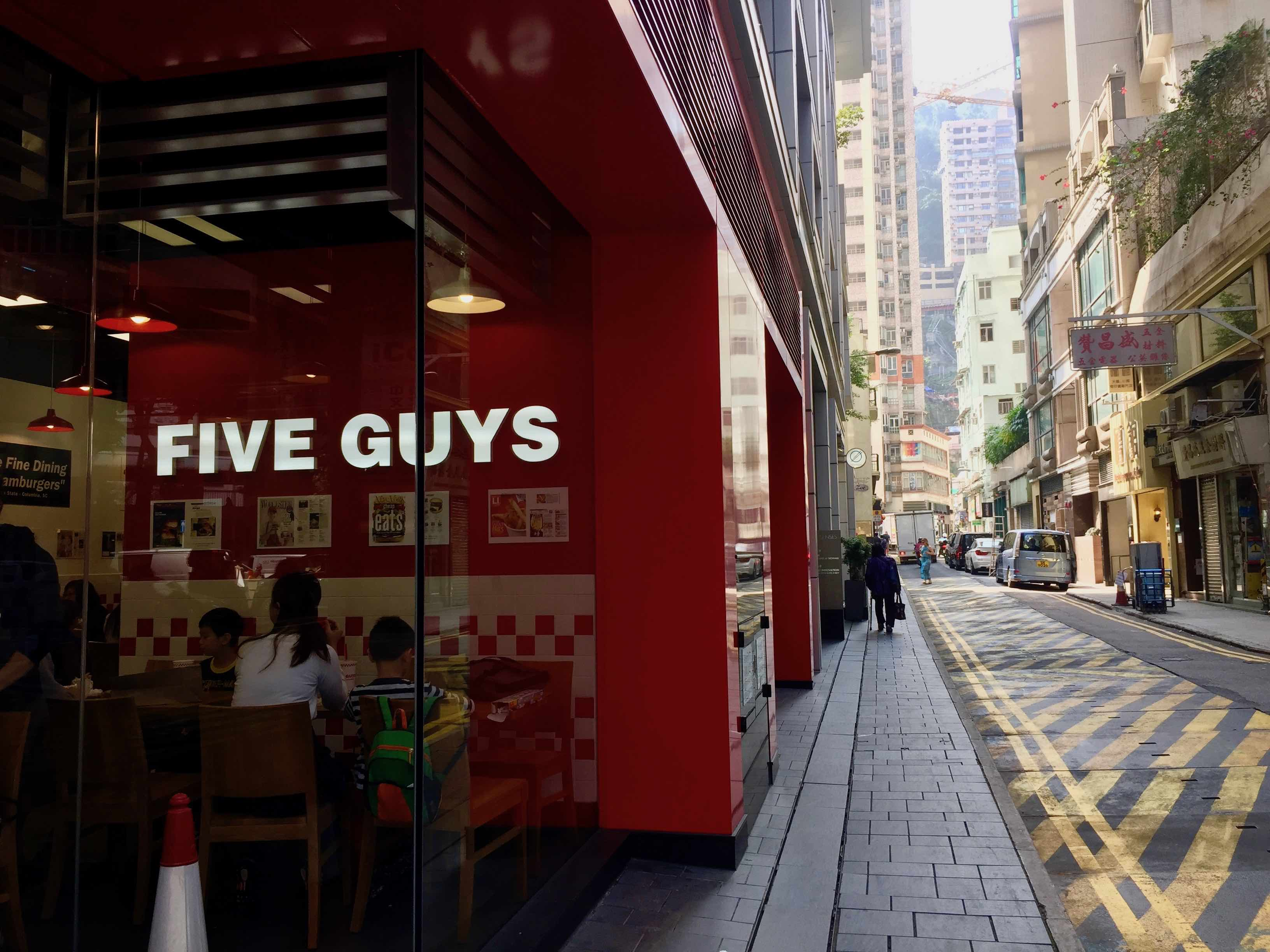 HK Wanchai Fitted Restaurant for Rent with Huge Outdoor