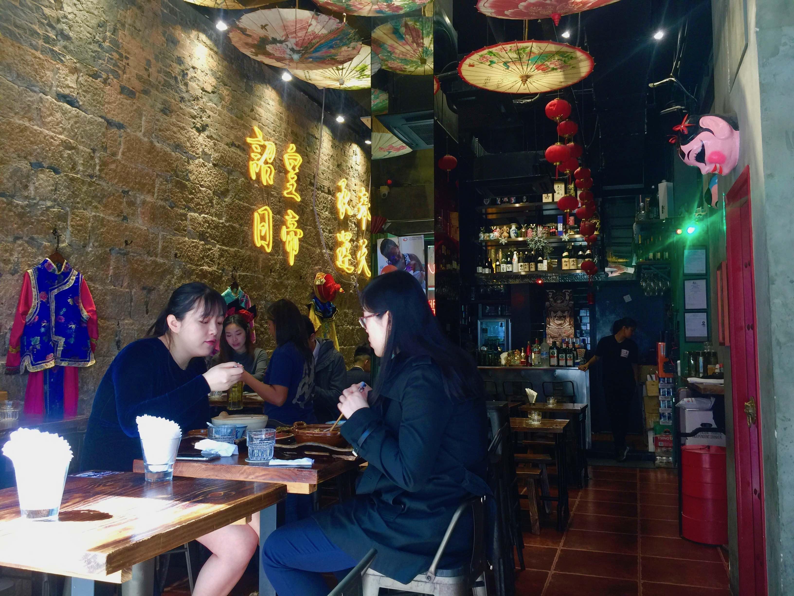 HK Central Soho High Ceiling Bar & Restaurant for Rent
