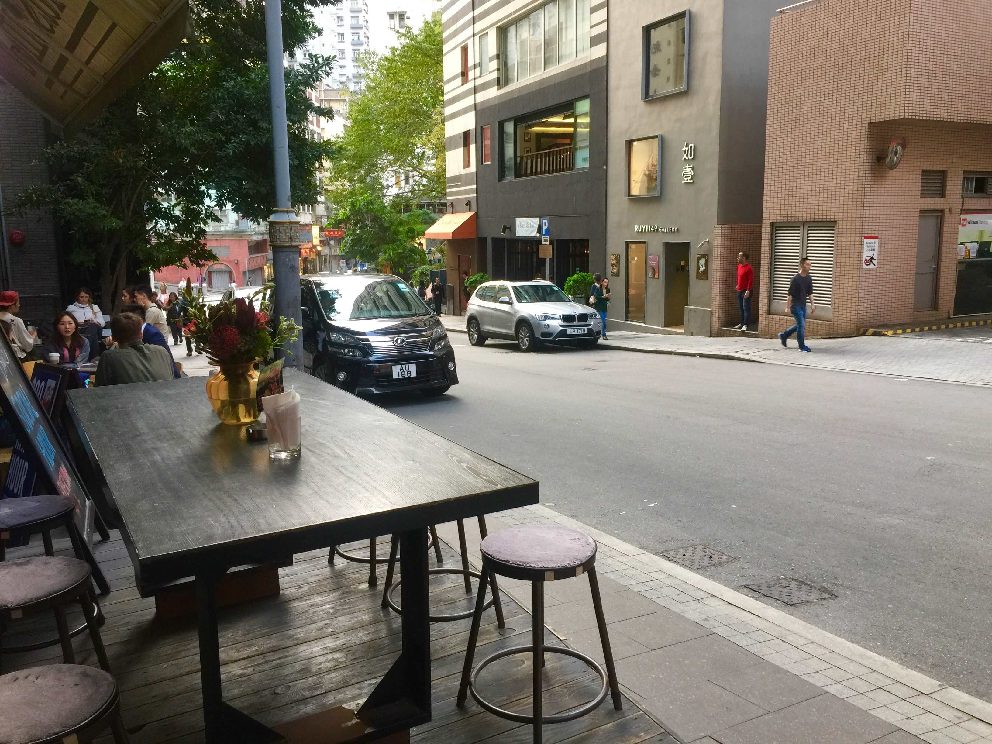Quality Fitted Restaurant with outdoor seating in HK for Lease