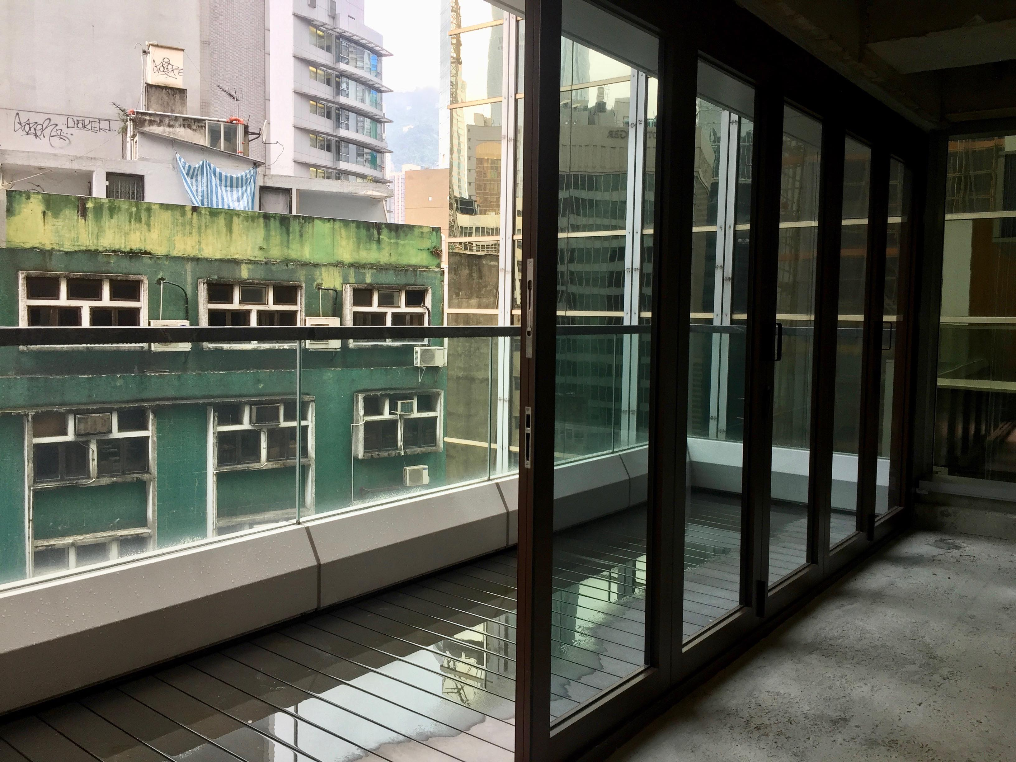 Upstairs Restaurant space with terrace for rent HK