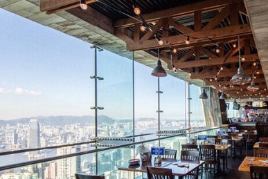 A new American Seafood Restaurant Landed on the Peak HK