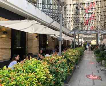 Outdoor Seating Restaurant for Rent in Causeway Bay HK