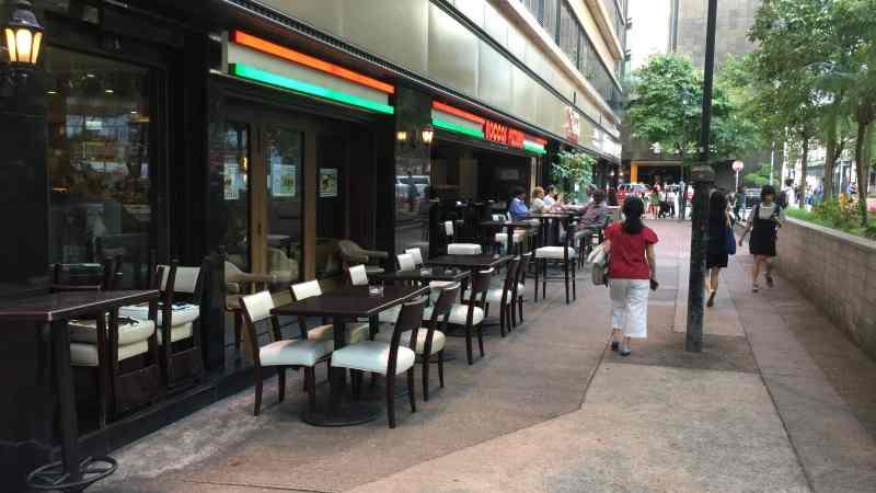 Wide shopfront Restaurant in Tsim Sha Tsui for rent