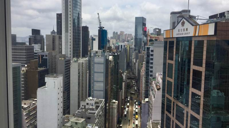 Wanchai fine-dining restaurant in HK office district for rent