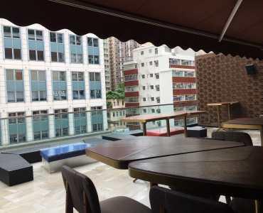 HK Wanchai Restaurant for Rent with Outdoor