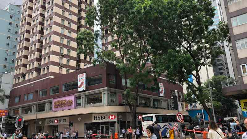 Spacious FB Shop For Lease in Wan Chai HK