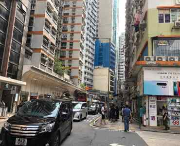 Hennessy Road FB Shop for Lease in HK