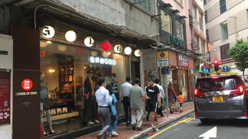 Causeway Bay High-traffic FB Shop for rent HK