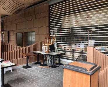 HK Wanchai Grab-Go FB Shop with outdoor seating for Rent