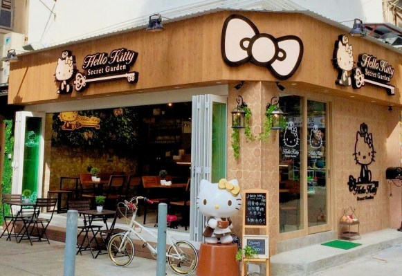 Hello Kitty Secret Garden Cafe closed down after 4 years of operation in HK