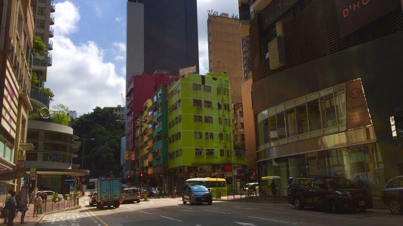 Wide-shopfront Restaurant Bar Space for Lease Wanchai HK