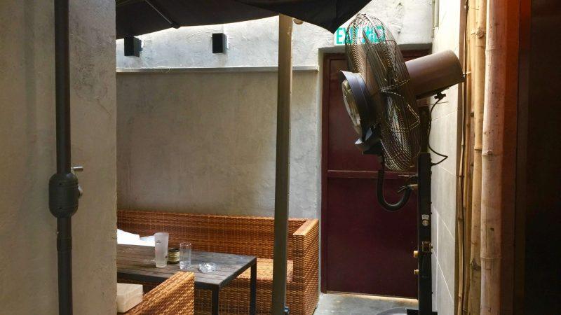 Open backyard Soho Restaurant Bar for Sale with Lease HK