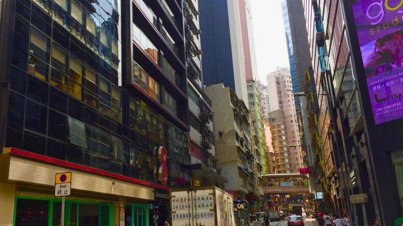 Hong Kong Central Fitted Restaurant for Rent with direct street access