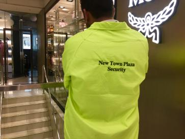 More security guards in HK shopping malls after serious damage in protests