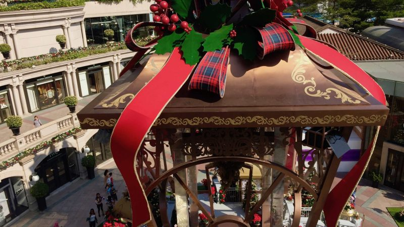 Why HK Shopping Malls cut Christmas decor in 2019?
