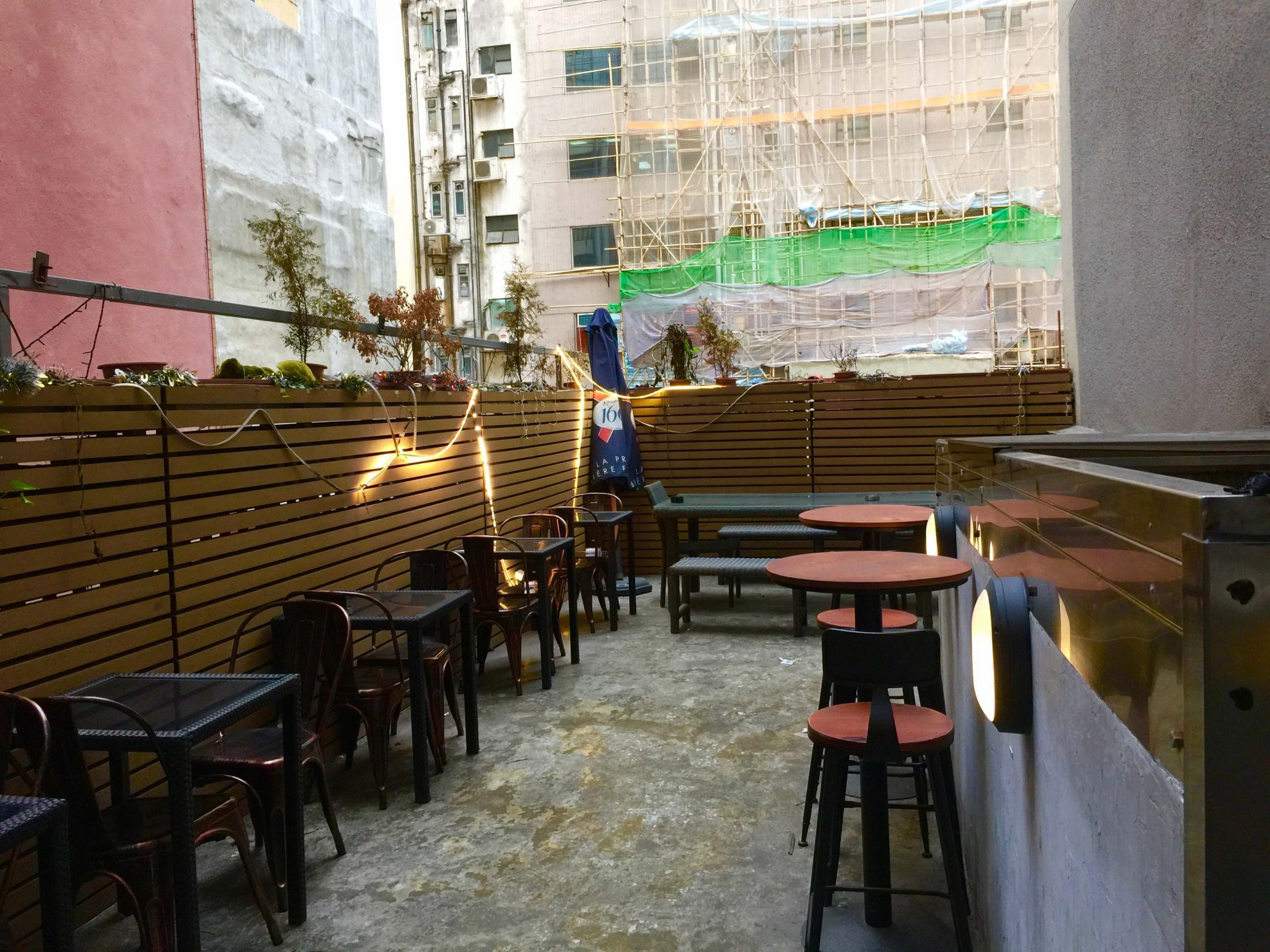 Rooftop Bar Restaurant for sale with lease in Sheung Wan HK