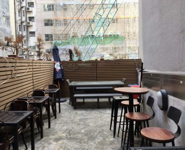 Fitted Bar with rooftop for lease in Sheung Wan Hong Kong