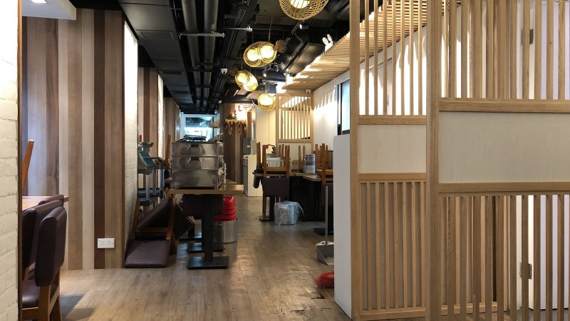 Central Fitted Upstairs Restaurant for Lease in Hong Kong