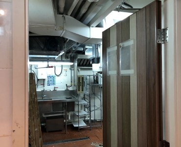 HK Central Fitted Upstairs Restaurant for Rent with full kitchen