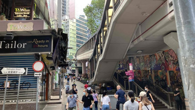 Central High-traffic Takeaway Shop for Lease in Hong Kong