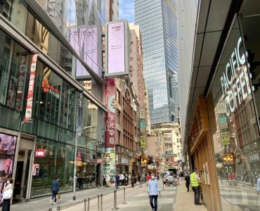 HK Causeway Bay High-traffic FB Shop for Rent