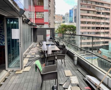Restaurant with fitting, licence and outdoor for lease in HK