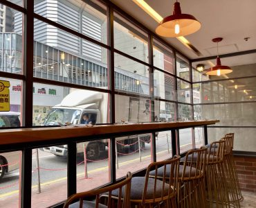 Wanchai Restaurant with Fitting for Rent in Office District HK