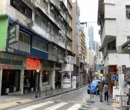 Soho FB Shop with Backyard for Rent in Central HK