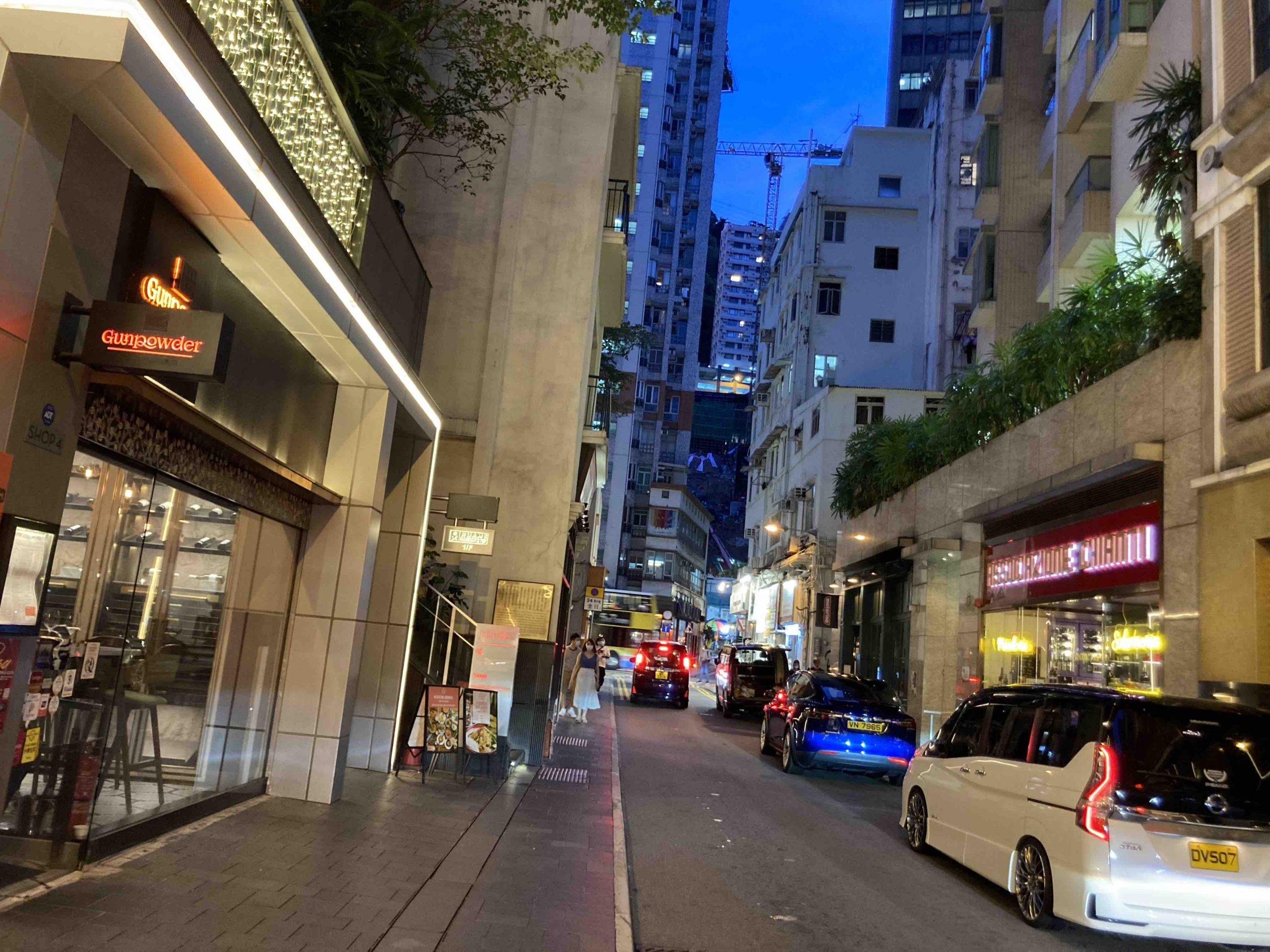 Hong Kong Wanchai Ship Street FB Shop for Rent