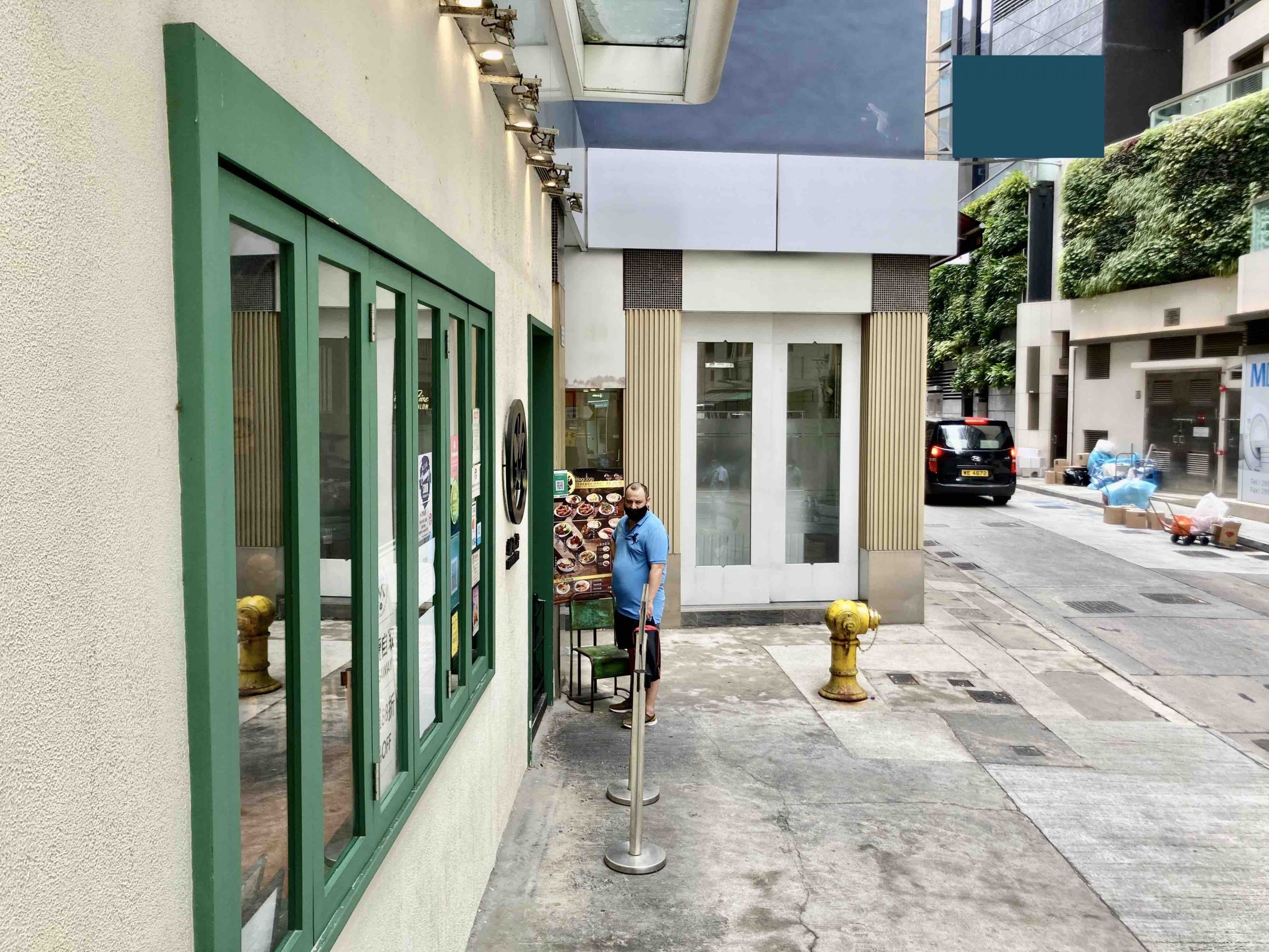 Cafe Bakery shop for lease in Central HK