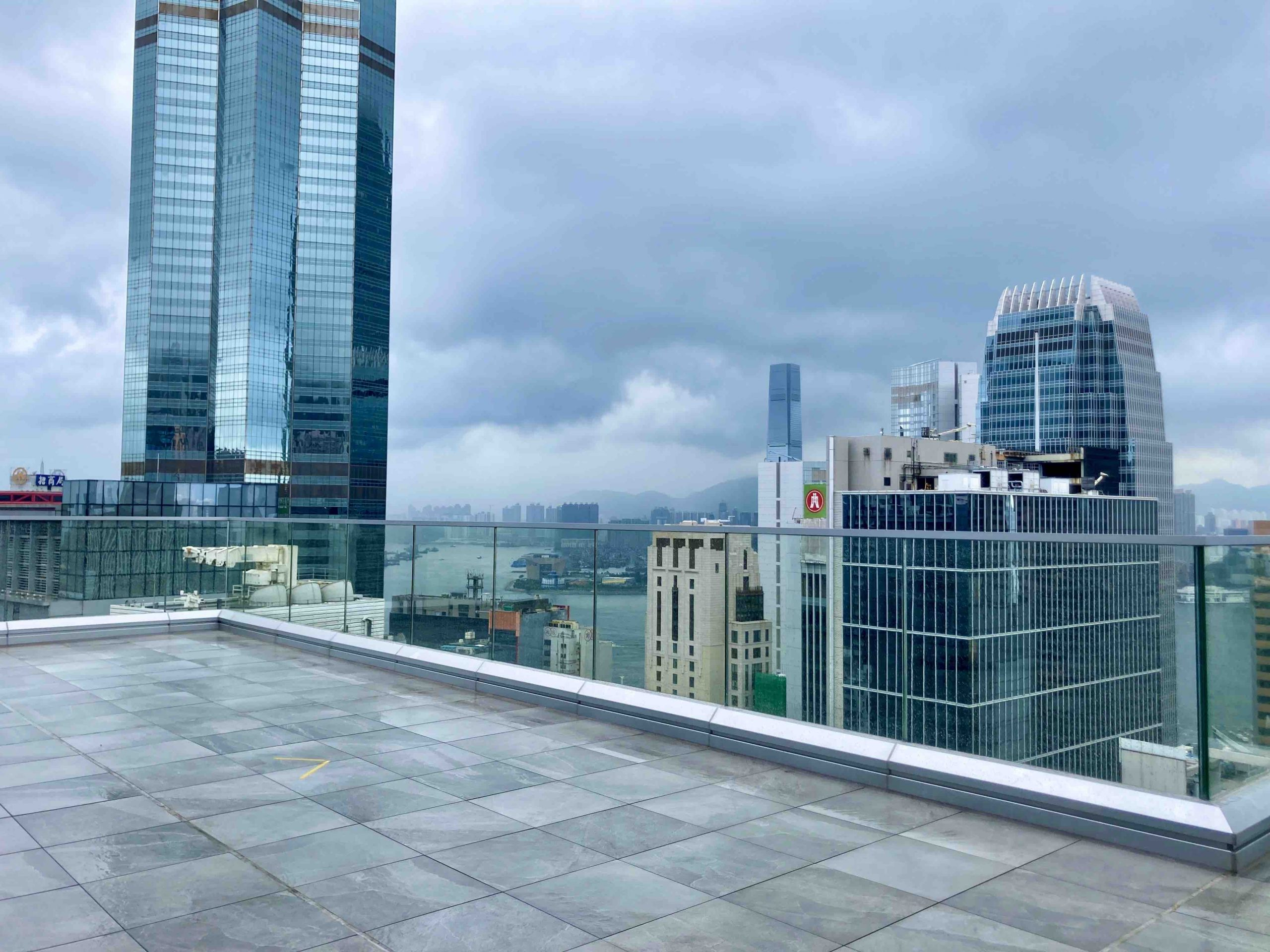 Rooftop Restaurant Space to Let in Central HK