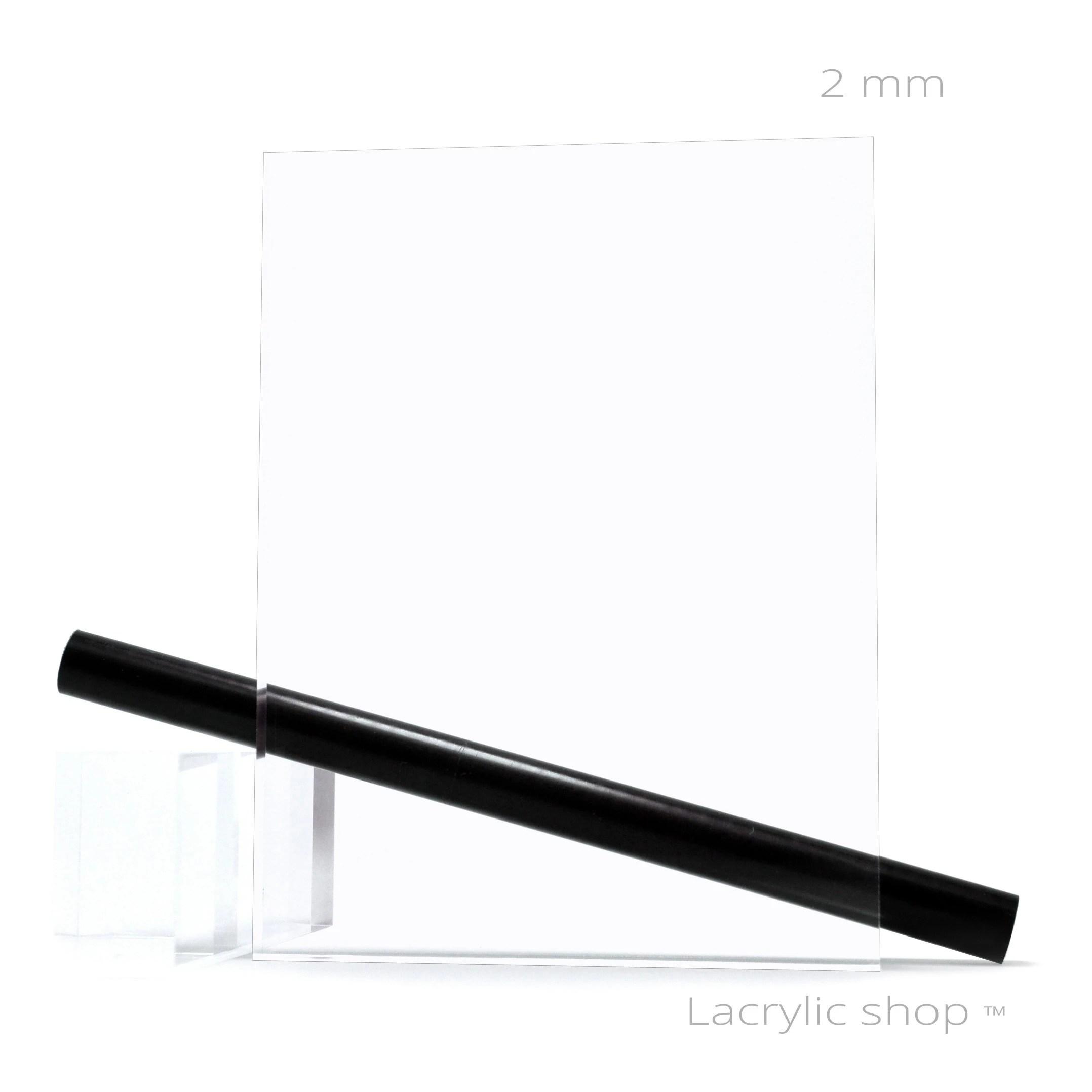 plexiglass pmma xt transparent ep 2 mm