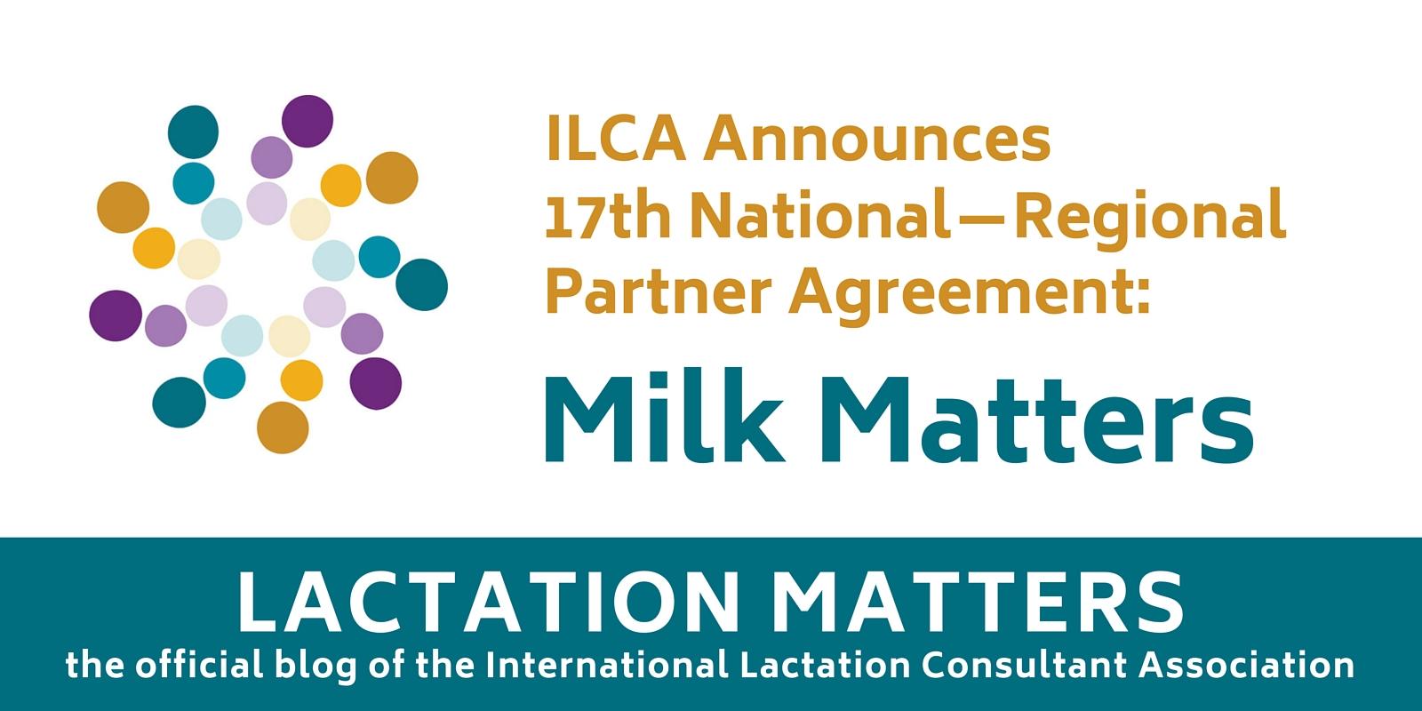 Lactation Matters milk matters