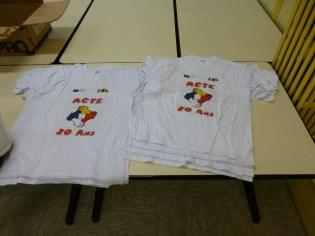 lot de tshirt