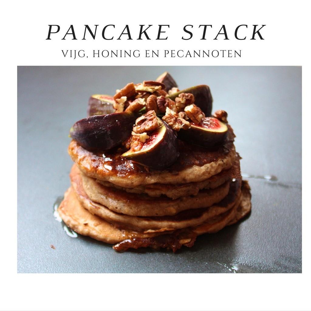 pancake stack lactosevrij