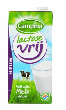 lactosevrije melk