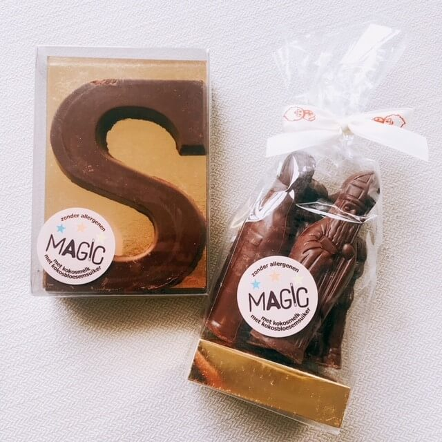 lactosevrije chocoladeletter