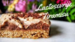 lactosevrije tiramisu