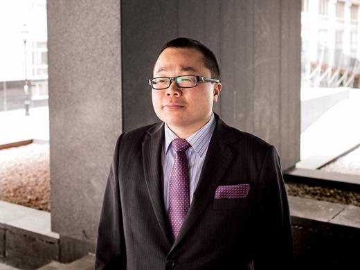 Winston Chan, chiropraticien, président de CA du Regroupement des jeunes chambres de commerce du Québec.