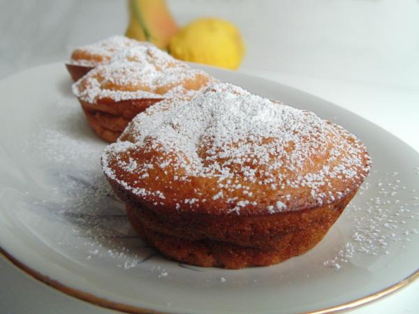 muffins di pere light