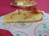 torta di mele cremosa fetta blog