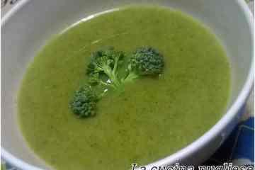 Vellutata di broccoli - la cucina pugliese