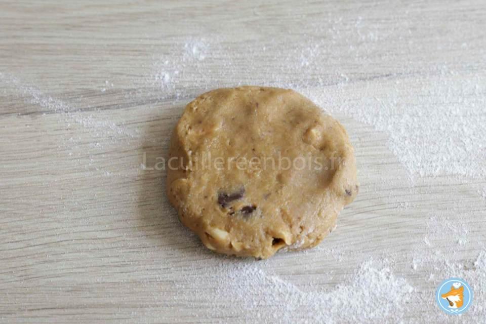 recette de cookies ibncroyables décadents au gianduja