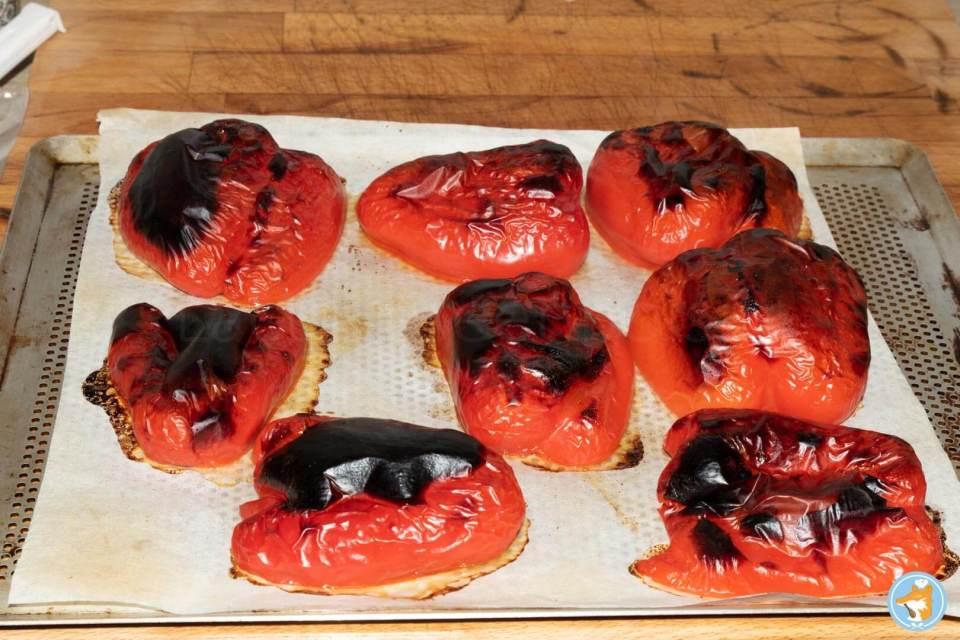Recette détaillée de Tchoutchouka marocaine aux oignons, tomates, poivrons et ail.