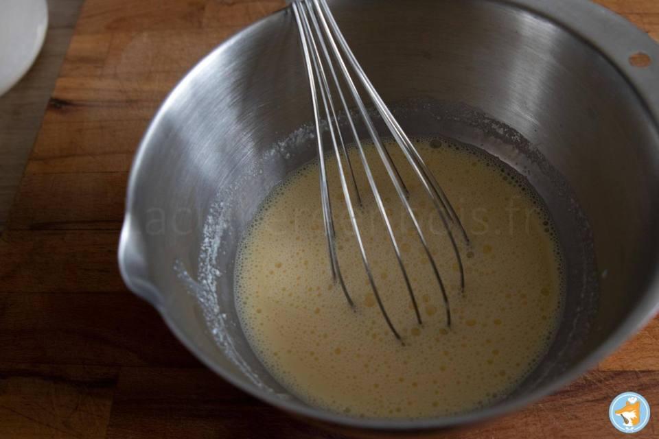 Recette pas-à-pas de pancakes exquis, fondants et super rapide.