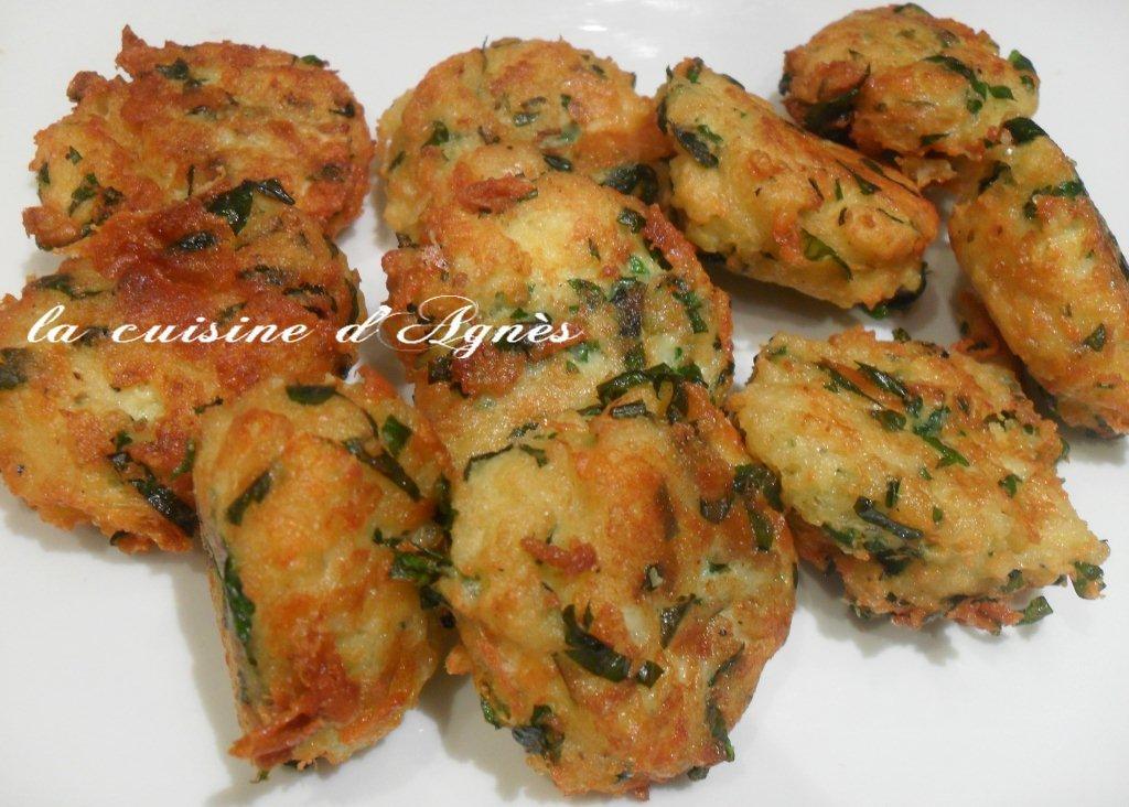 polpette au fromage  La cuisine dagnsLa cuisine dagns