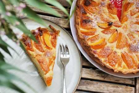 tarte à l'abricot
