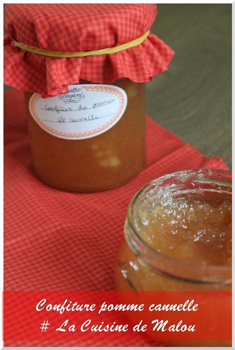 Recette Confiture De Pommes Originale : recette, confiture, pommes, originale, Cadeau, Gourmand, Confiture, Pomme, Cannelle, Cuisine, Malou